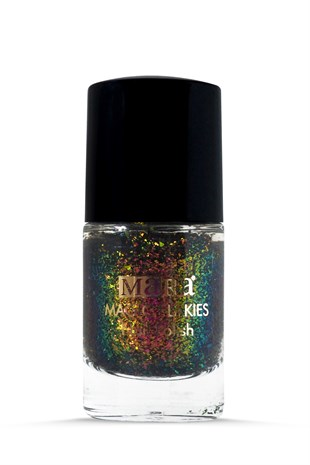 Mara Flakies Nail Polish Oje Pink - Gold - Green