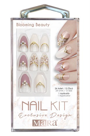 Mara Nail Kit Blooming Beauty Takma Tırnak