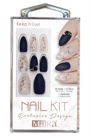 Mara Nail Kit Keep It Cool Takma Tırnak