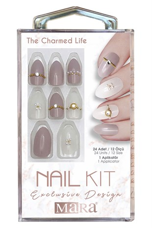 Mara Nail Kit The Charmed Life Takma Tırnak