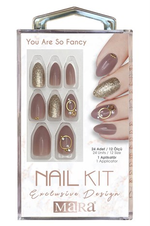 Mara Nail Kit You Are So Fancy Takma Tırnak