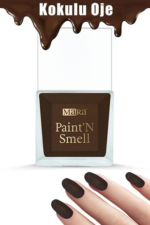 Mara PaintN Smell Kokulu Oje Chocolate 15ml