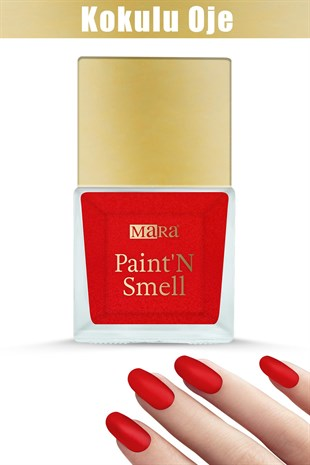 Mara PaintN Smell Kokulu Oje Rose Passion 15ml